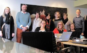 Oiva-hankkeen projektiryhmän jäseniä